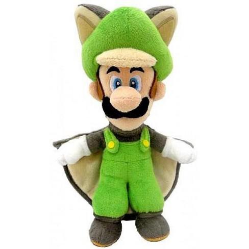 New Super Mario Bros U Luigi 14 Inch Plush Flying Squirrel Target
