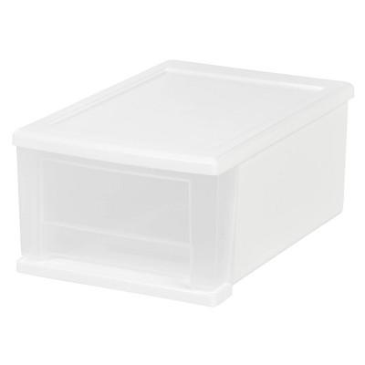 IRIS 3pk 17qt Plastic Storage Drawer
