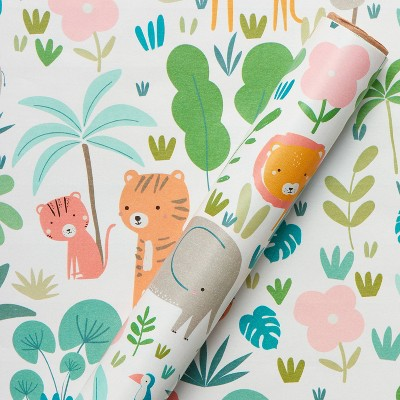 Jungle Baby Wrapping Paper - Spritz™