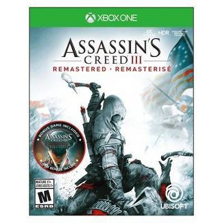 Assassins Creed III: Remastered - Xbox One