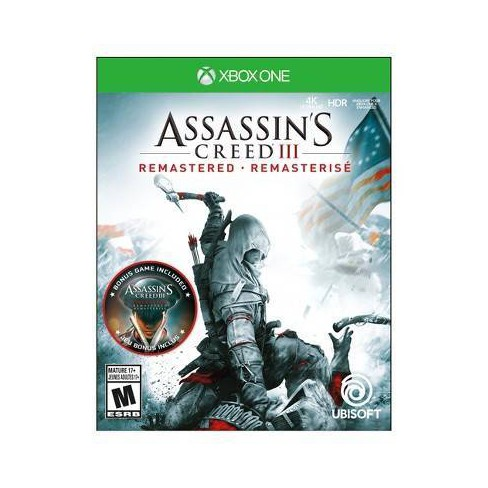 Assassin's Creed III: Remastered - Xbox One - image 1 of 4