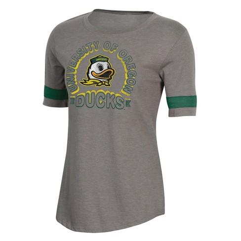 NCAA Women's Short Sleeve Scoop Neck T-Shirt Oregon Ducks - image 1 of 2