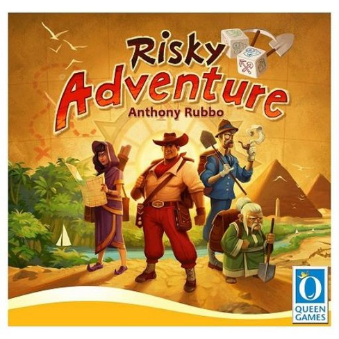 Risky Adventure Board Game - image 1 of 1