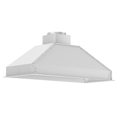ZLINE 698-46 Deep 1200 CFM 46 Inch Range Hood Insert with LED Lighting, 4 Fan Speed Settings, Stainless Steel