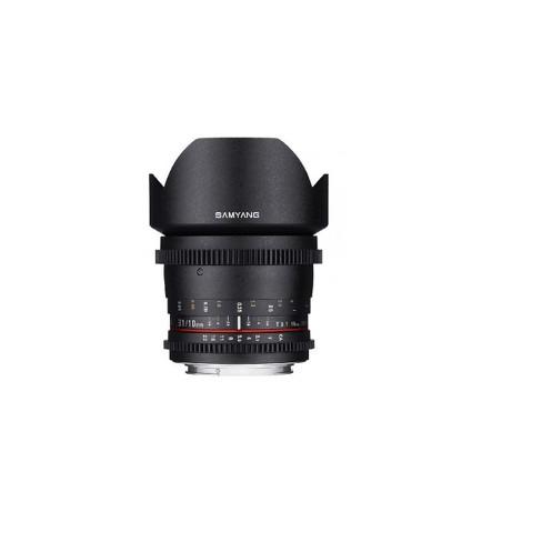 Samyang 10mm T3.1 VDSLR ED AS NCS CS Cine Wide Angle Lens for Olympus & Panasonic Micro 4/3 Cameras - image 1 of 3