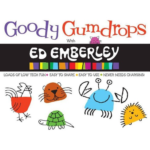 Goody Gumdrops with Ed Emberley (Ed Emberley on the Go!) - (Paperback) - image 1 of 1