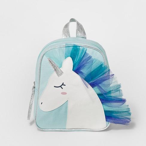ec725837ae1 Toddler Girls  Unicorn Backpack Handbag - Cat   Jack™ Blue   Target