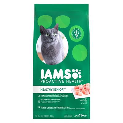 Cat Food: Iams Proactive Health Healthy Senior