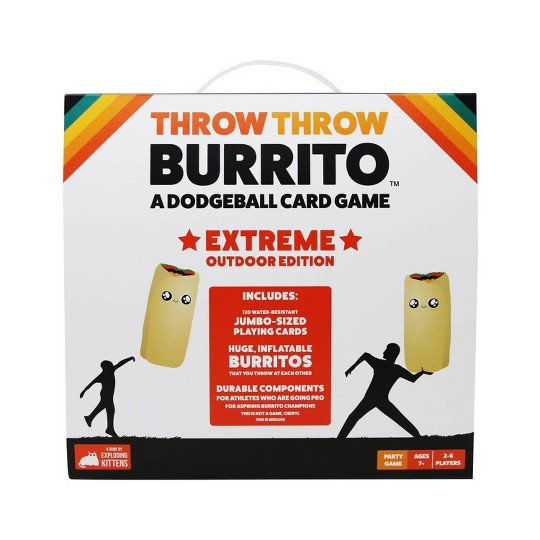 Throw Throw Burrito Game: Extreme Outdoor Edition image number null