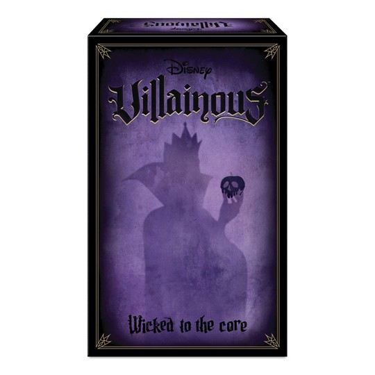 Ravensburger Disney Villainous Wicked to the Core Game Expansion Pack image number null