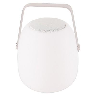 Allsop Glow 11.8  Opal Outdoor Speaker Lantern - White - Mooni