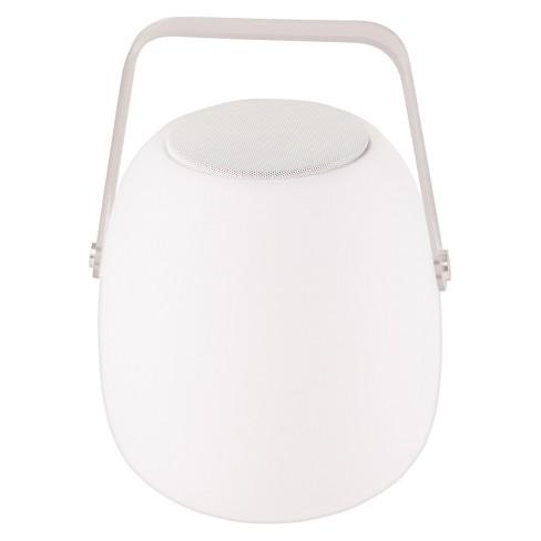 "Allsop Glow 11.8"" Opal Outdoor Speaker Lantern - White - Mooni - image 1 of 3"