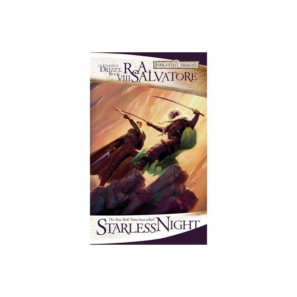 Starless Night Forgotten Realms Novel Legend Of Drizzt By R A Salvatore Paperback