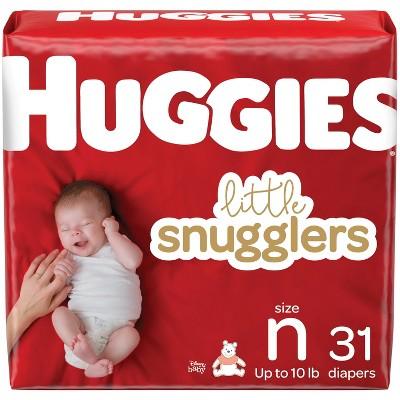Huggies Little Snugglers Diapers Jumbo Pack - Size Newborn (31ct)