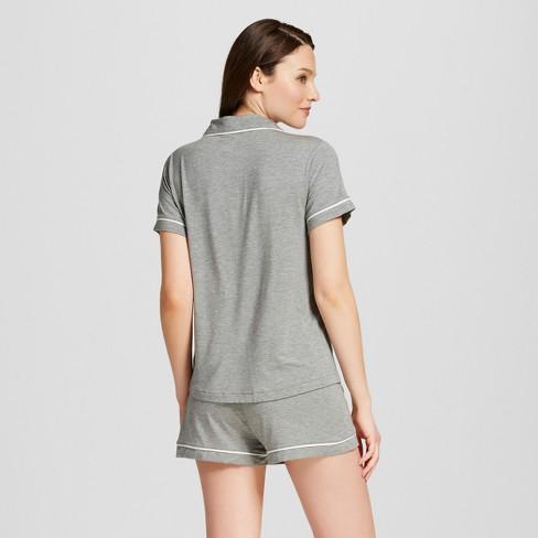 61fe69c72f30 Women s Pajama Set Total Comfort - Gilligan   O Malley™ - Medium Heather  Gray S   Target