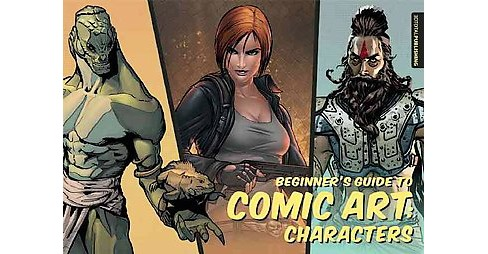 Beginner's Guide to Comic Art : Characters (Paperback) - image 1 of 1