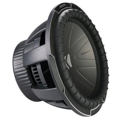 """Kicker 42CWQ124 12"""" CompQ Subwoofer w/ Dual 4-Ohm Voice Coils"""