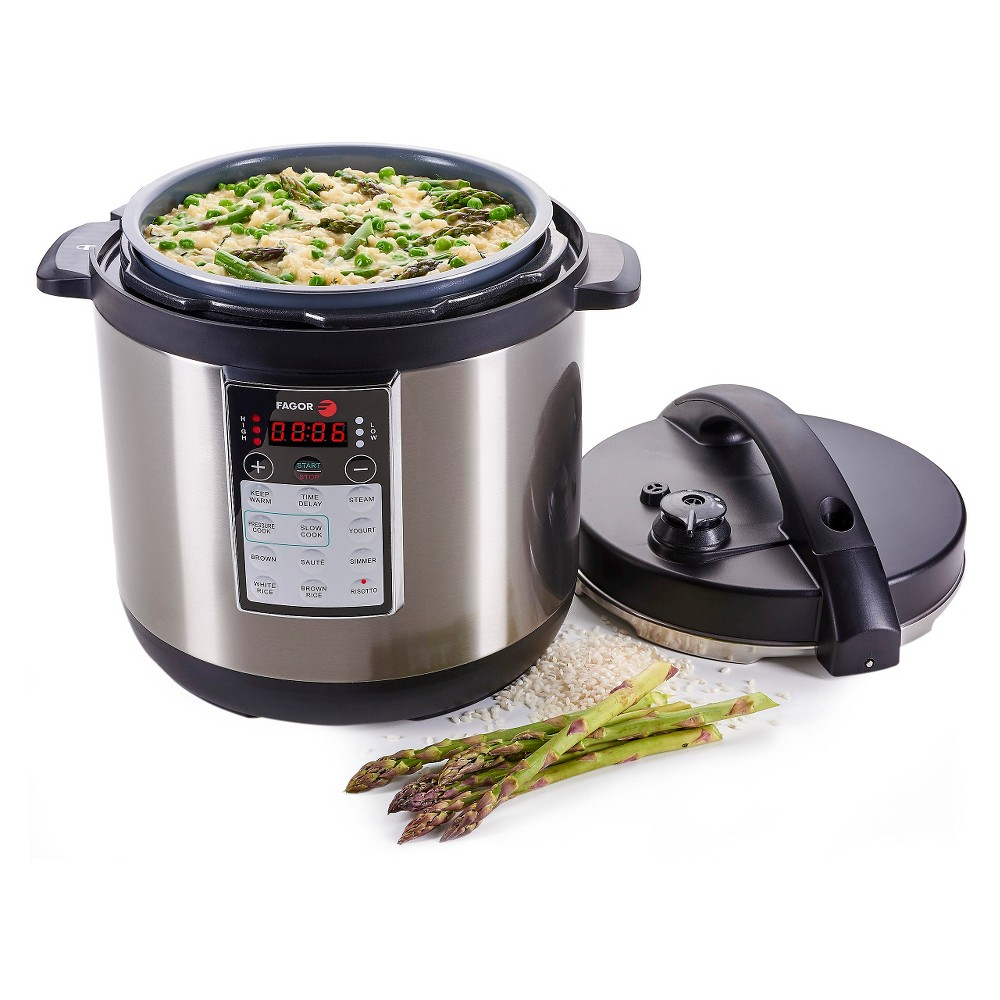 Fagor Lux 8 Qt. Multi-Cooker - Stainless Steel (Silver)