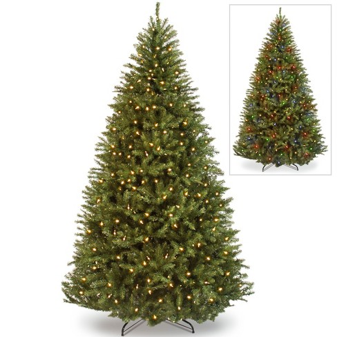 Best Choice Products 7.5ft Pre-Lit Hinged Artificial Fir Christmas Tree w/ 700 LED Lights, 7 Light Sequences - image 1 of 4