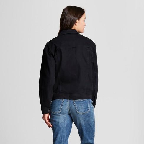 8d0cf0e548de Women s Denim Jacket - Universal Thread™ Black Wash   Target