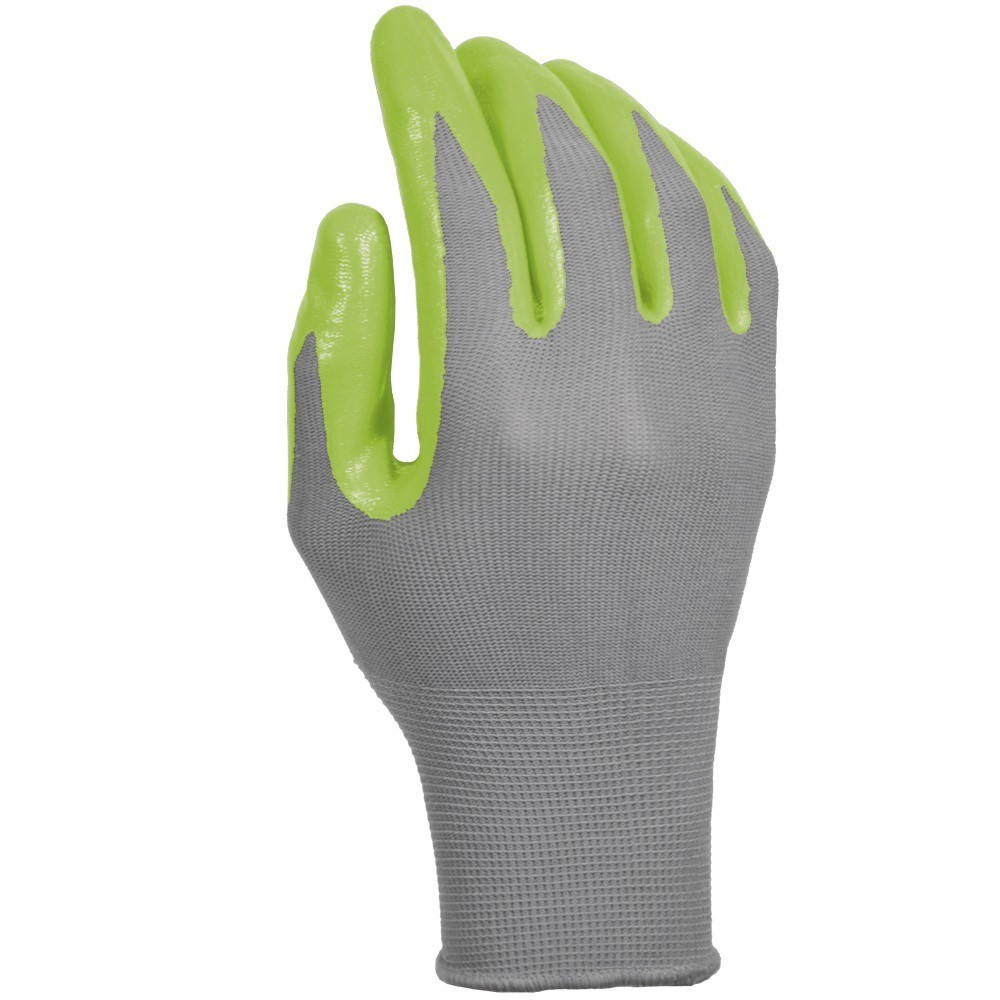 Nitrile Dipped Glove - Green - Digz