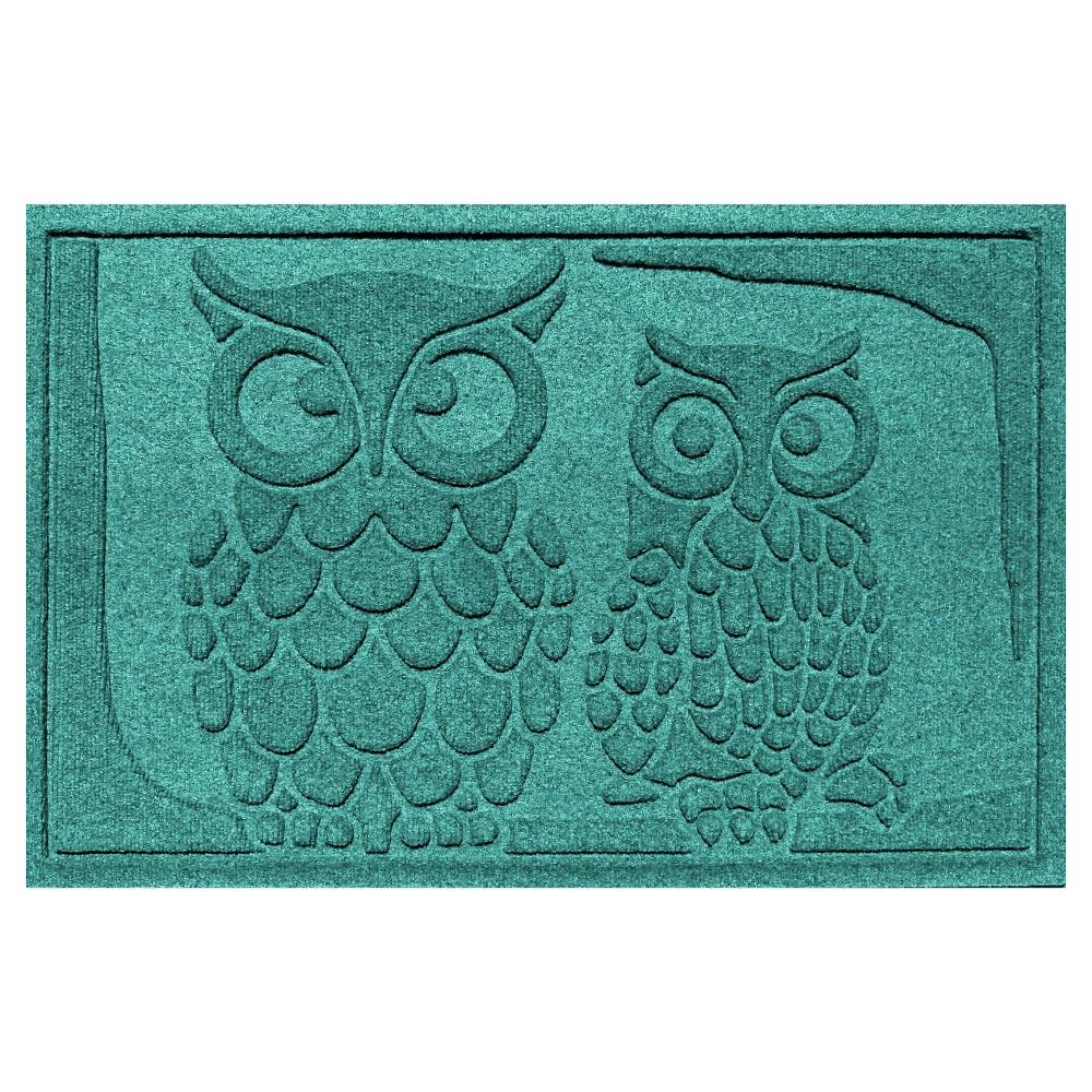 Aquamarine Animals Pressed Doormat - (2'X3') - Bungalow Flooring