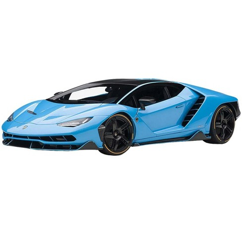 Lamborghini Centenario Pearl Blue With Carbon Top 1 18 Model Car By