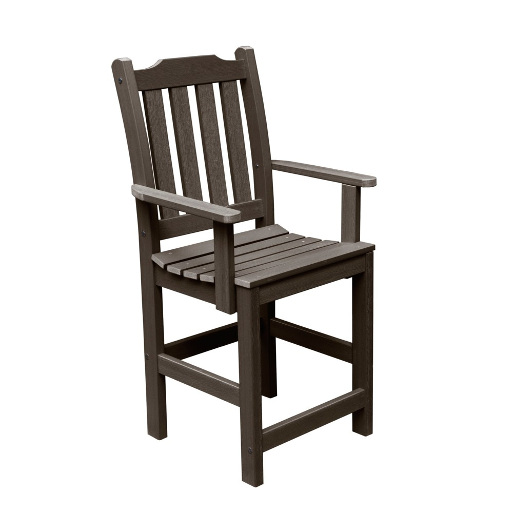 Lehigh Counter Armchair Weathered Acorn - Highwood