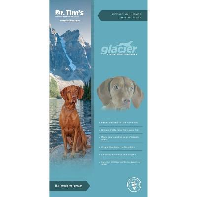 Dr. Tim's Glacier Athletic Blend Premium Dry Dog Food - 40lbs