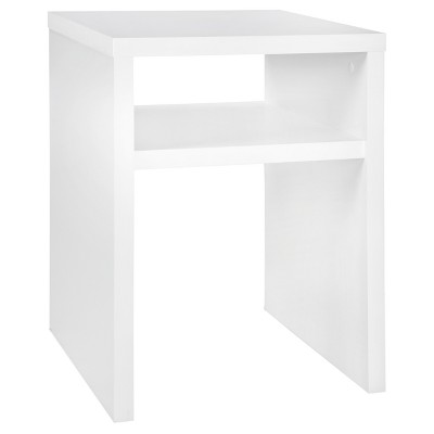 Storage Furniture End Table - White - ClosetMaid