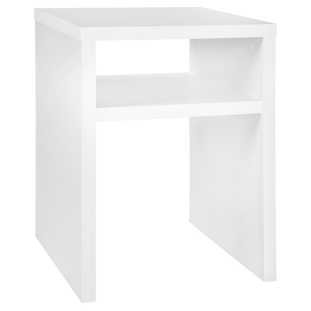 Image of Storage Furniture End Table - White - ClosetMaid