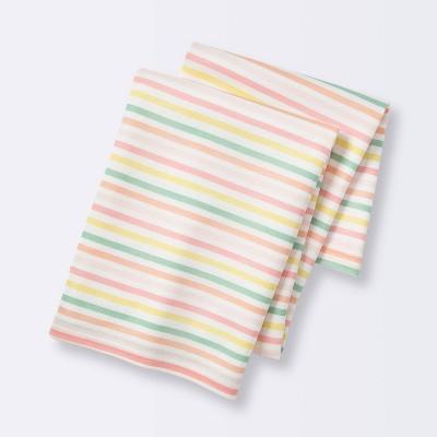 Jersey Swaddle Blanket Stripe - Cloud Island™