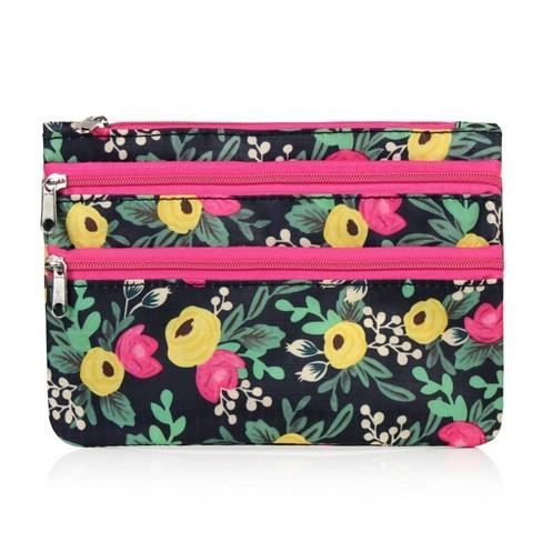 Zodaca Women Coin Purse Wallet Zipper Pouch Bag Card Holder Case -  Multifloral : Target