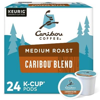 Caribou Coffee Caribou Blend Keurig K-Cup Coffee Pods - Medium Roast - 24ct