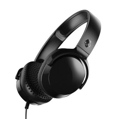 Skullcandy Riff Wired On-Ear Headphones - Black