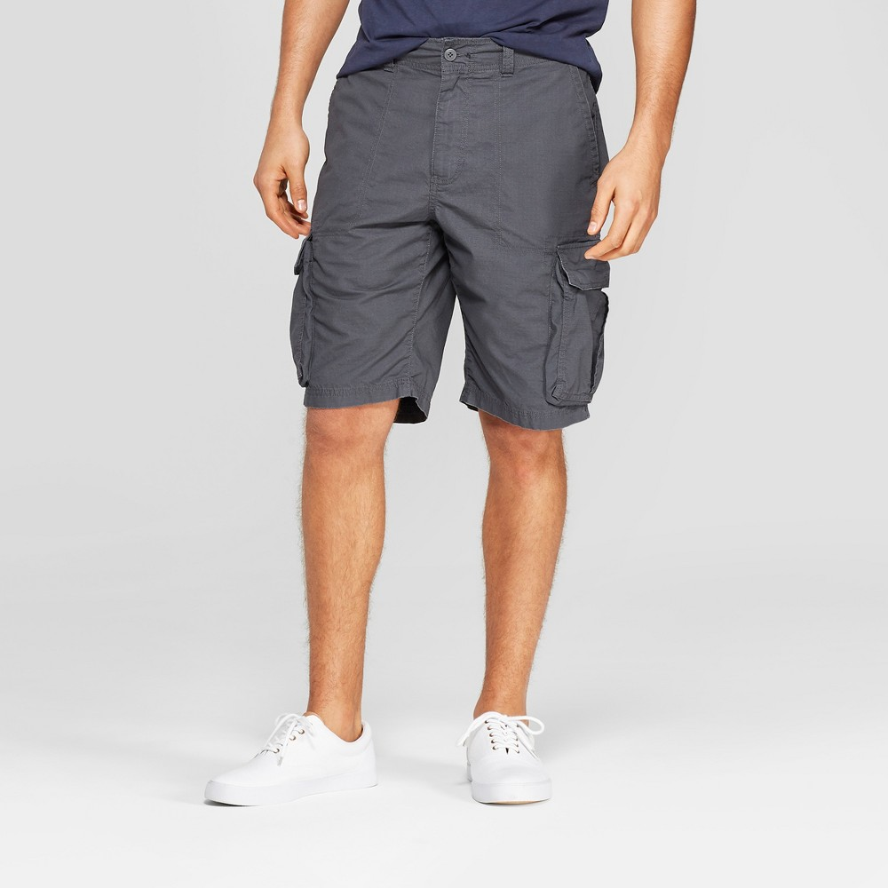 Best Buy Men 11 Cargo Shorts Goodfellow Co Gray 36 Railroad Gray