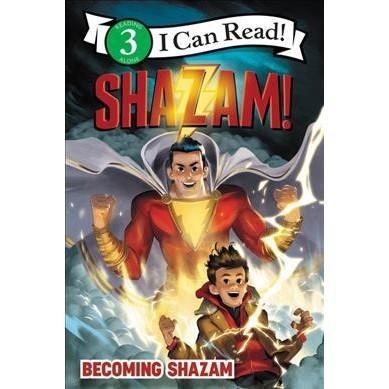 Shazam!: Becoming Shazam - (I Can Read Level 3) by  Alexandra West (Paperback)
