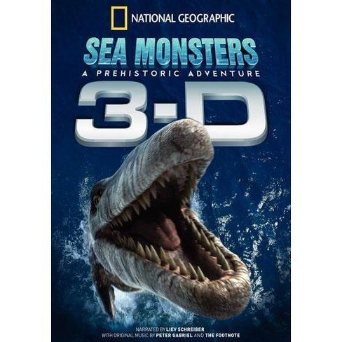 National Geographic: Sea Monsters, A Prehistoric Adventure (Imax) (DVD) - image 1 of 1