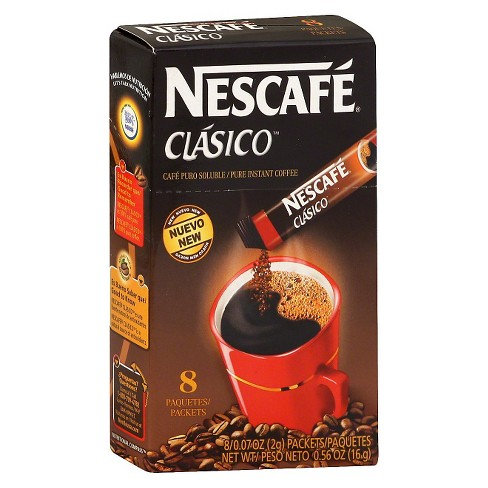 Nescafé Classico Pure Instant Coffee Packets - 8ct - image 1 of 1