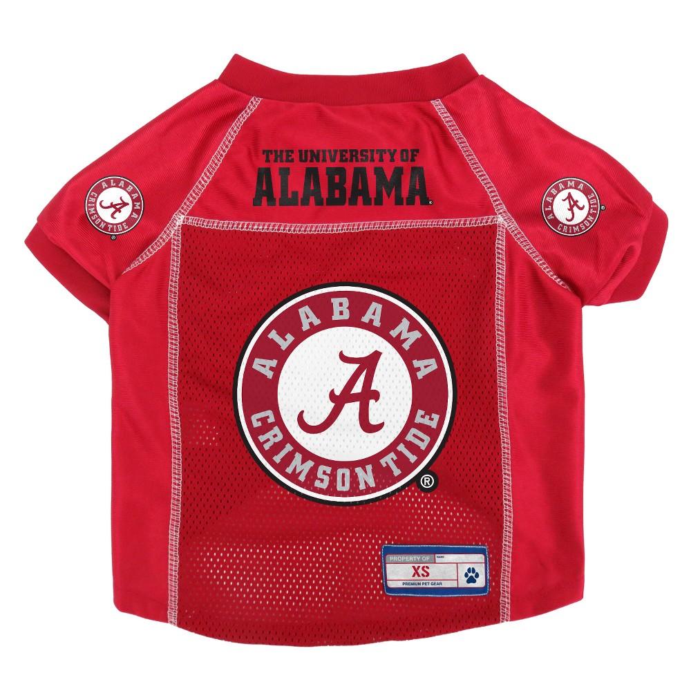 Alabama Crimson Tide Little Earth Pet Football Jersey L