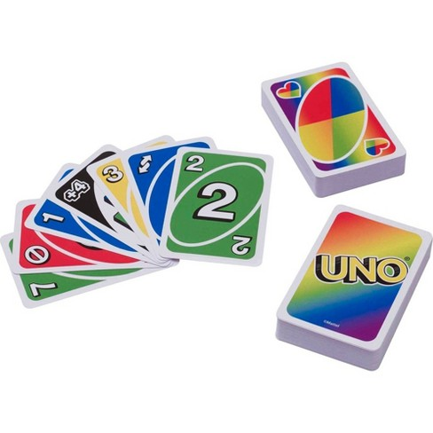 UNO Play with Pride Edition Card Game - image 1 of 4