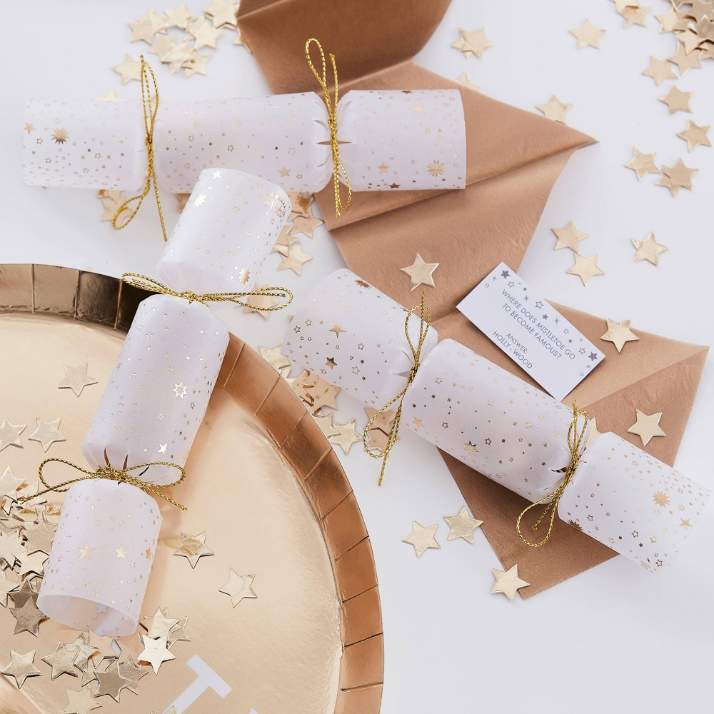 Promos Confetti Filled Poppers Gold