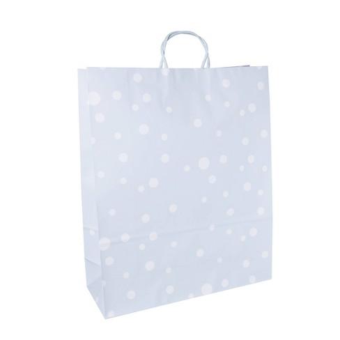Jumbo Dot Gift Bags Pastel Blue - Spritz™ - image 1 of 1