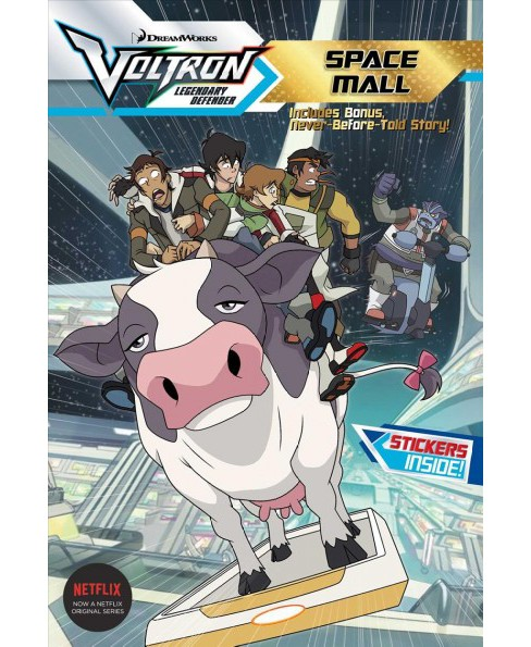 Space Mall -  (Voltron Legendary Defender) (Paperback) - image 1 of 1