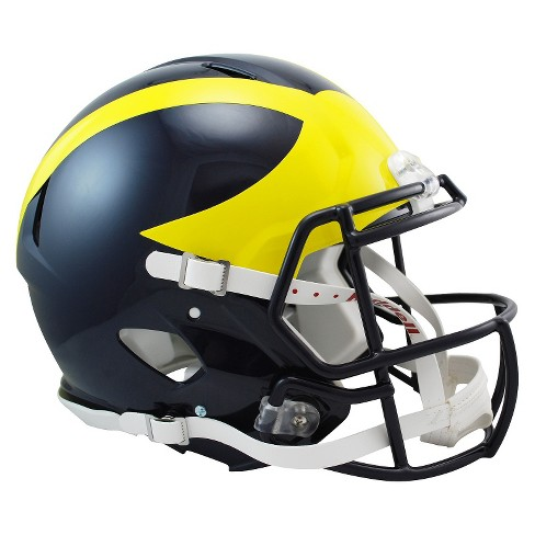 Michigan Wolverines Riddell Speed Authentic Helmet - Navy - image 1 of 1