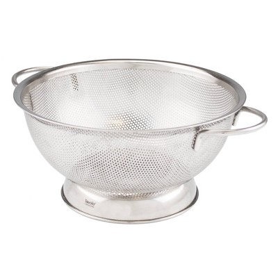 Tovolo Stainless Steel Perforated Colander Large (2.5qt)Silver