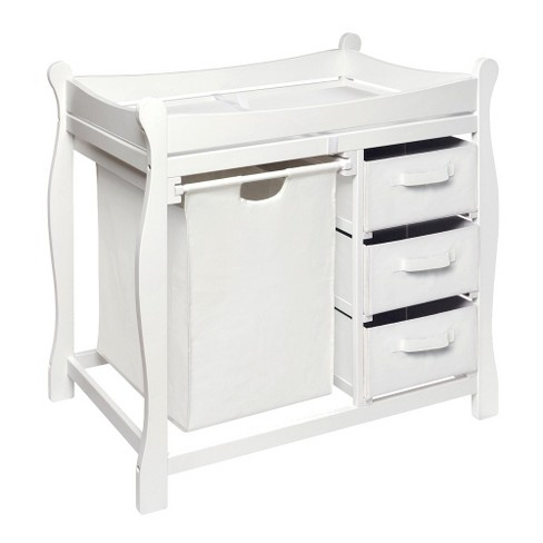 Badger Basket Badge Changing Table & Hamper - image 1 of 2