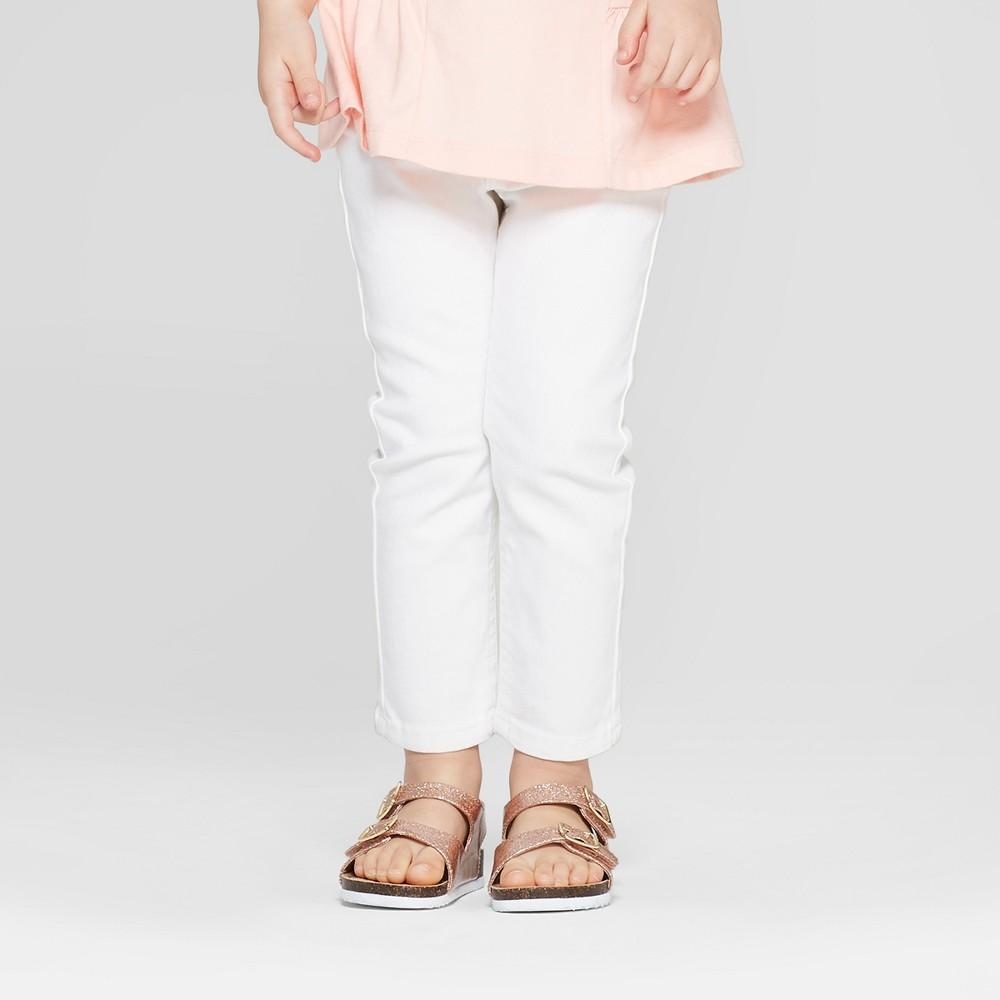 Toddler Girls' Skinny Jeans - Cat & Jack White 3T