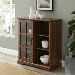 Sliding Glass Door Bar Cabinet - Saracina Home
