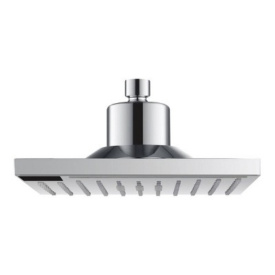 Square Shower Head with LED Temperature Display - evekare